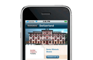 Swiss Historic Hotels kostelose iPhone APP