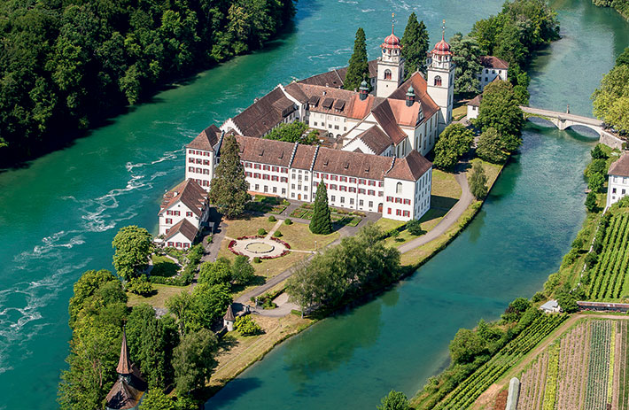 Rheinau, the former abbey