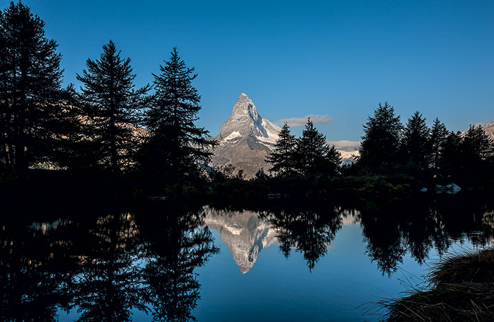 Lake Grindji with Matterhorn
